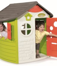 Domeček pro děti Jura Lodge s okenicemi