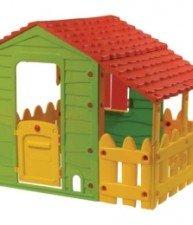 Domeček pro děti Farm House s plotem