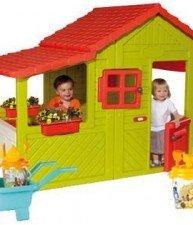 Set domek Maison Floralie Zahradník a kolečko s kbelík setem