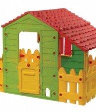 Domeček pro děti Farm House Starplast se dvěma ploty a střechou