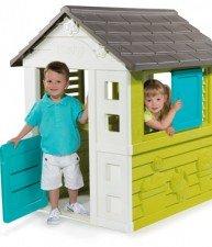 Dětský domeček Pretty Blue se zasouvací okenicí