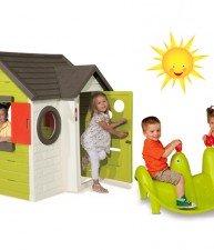 Set detský domeček My House a houpačka pro děti Tuleň
