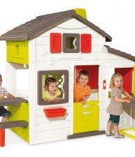 Dětský domeček Přátel s kuchyňkou a elektronickým zvonkem