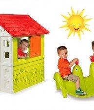 Set domeček pro děti Nature a houpačka Tuleň