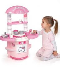 Kuchynka pre deti Hello Kitty s krídelkami