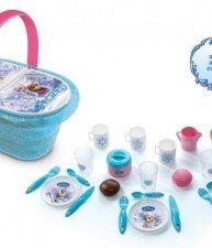 Detský piknikový košík Frozen Smoby 24 doplnkami