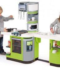 Kuchynka pre deti CookMaster Verte s ľadom a 36 doplnkami