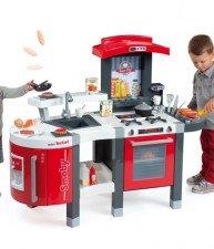 Detská kuchynka Tefal SuperChef so zvukmi, kávovarom a 47 doplnkami