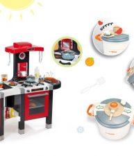 Set kuchynka Tefal French Touch Bublinky&Voda a tlakový hrniec Tefal