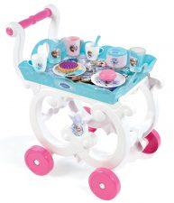 Detský servírovací vozík Frozen Smoby s čajovou súpravou