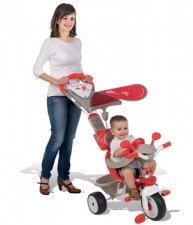 Červená tříkolka Baby Driver Confort