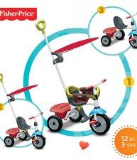 Tříkolka Fisher Price Jolly Plus od 12 měsíců