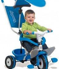 Modrá tříkolka Baby Balade Blue