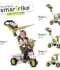 Dětská tříkolka Dream Team Green Touch Steering