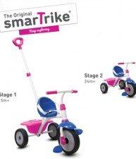 Tříkolka Fun 2v1 smartrike s vodící tyčí