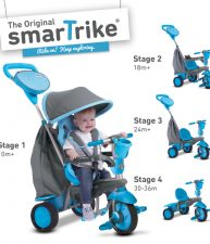 Trojkolka Swing 4v1 Blue Touch Steering