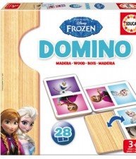 Drevené domino Frozen – Ľadové Kráľovstvo 28 ks