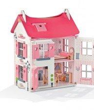 Drevený domček pre bábiky Mademiselle Doll's House