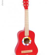 Drevená gitara Confetti Big Red Guitar