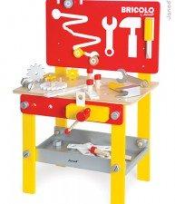 Drevený pracovný stôl Redmaster Bricolo M magnetický