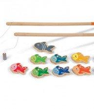 Drevené magnetické rybárske udice Let's Go Fishing