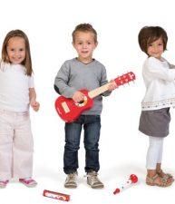 Sada drevených hudobných nástrojov Confetti