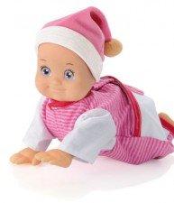 SMOBY lezúca bábika Minikiss od 12 mesiacov