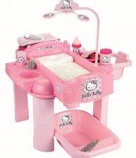 ÉCOIFFIER prebaľovací stolík pre bábiku Hello Kitty od 18 mesiacov