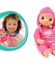 SMOBY bábika s nahrávaním zvuku Murmures MiniKiss od 12 mesiacov