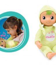 SMOBY zelená bábika DouDou MiniKiss od 12 mesiacov