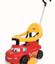 SMOBY červené odrážedlo a chodítko Cars Auto 2v1