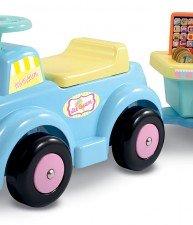 Ecoiffier dětské odrážedlo se zmrzlinovým vozíkem
