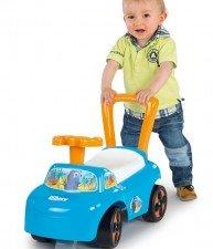 Smoby modro-oranžové odrážedlo a chodítko pro chlapce od 10 měsíců