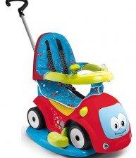 Dětské odrážedlo Maestro Confort Smoby s houpačkou a elektronickým volantem