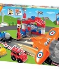 ÉCOIFFIER stavebnice pro děti Abrick Rychlá auta a letiště