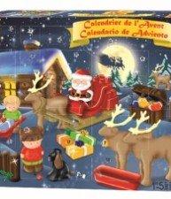 ÉCOIFFIER stavebnice Abrick Adventní kalendář 24 kusů