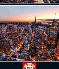 EDUCA puzzle pro náročné Manhattan Sunset