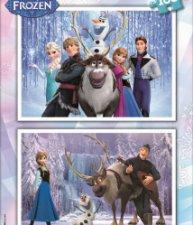 EDUCA puzzle Frozen – Ledové království 2×100 ks