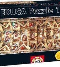 EDUCA puzzle Genuine Sixtinská kaple 18 000 ks