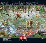 EDUCA puzzle 33 600 dílů Genuine Wildlife