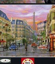 EDUCA puzzle Rue Paris 5000ks