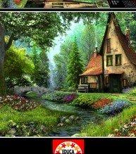 EDUCA puzzle 6000 dílů Toadstool Cottage