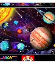 EDUCA puzzle Neon Solar System 1000 ks