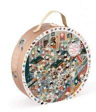 JANOD dětské kartonové puzzle Restaurant Kitchen 208 dílů
