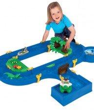 Big skládací vodní hra Waterplay Jungle Adventure s 5 figurkami – 32 dílů