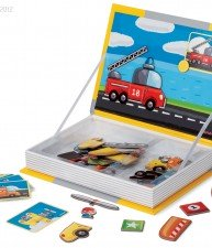 Janod magnetická kniha MagnetiBook Vehicles