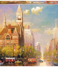 Puzzle New York Afternoon – Alexander Chen 6000 dílů