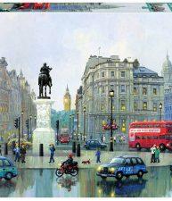 Puzzle Genuine London Charing Cross, Alexander Chen Educa 3 000 dílů