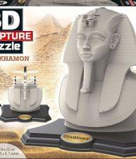 Puzzle 3D Sculpture Tutankhamon 160 dílů
