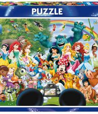 Puzzle The Marvelous World of Disney 1000 dielov